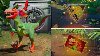 ALL NEW Bosses, Mythic Weapons & Keycard Vault Locations (Boss Dinosaur, Raptor, Rex)