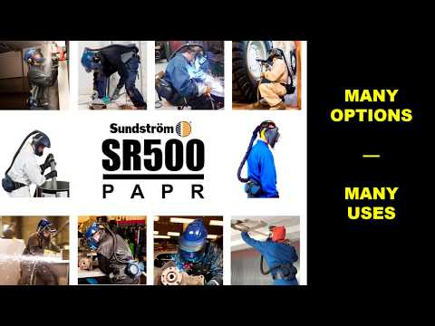 Sundstrom SR500 Powered Air-Purifying Respirator (PAPR)