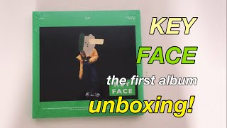 Gambar cover UNBOXING! KEY - FACE The First Album