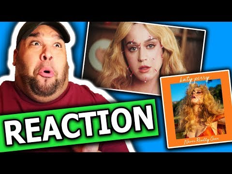 Katy Perry - Never Really Over (Music Video) REACTION