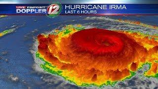 Ураган ИРМА в Америке. Пятница. Hurricane IRMA 2017.