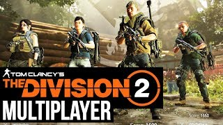 THE DIVISION 2 Multiplayer Gameplay - Conflict (Domination)