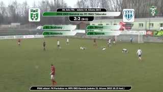 preview picture of video 'Sestřih utkání MFK OKD Karviná vs. FC MAS Táborsko'