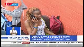 Kenyatta University shut down after overnight rampage