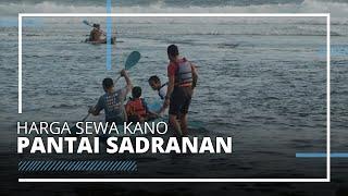 Intip Harga Sewa Kano, Alat Snorkeling dan Jasa Foto di Pantai Sadranan Gunungkidul