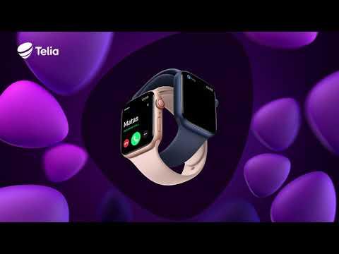 """Telia eSIM su išmaniuoju laikrodžiu """"Apple watch"""" Jau Lietuvoje!"""
