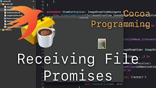 Cocoa Programming L86 - NSFilePromiseReceiver