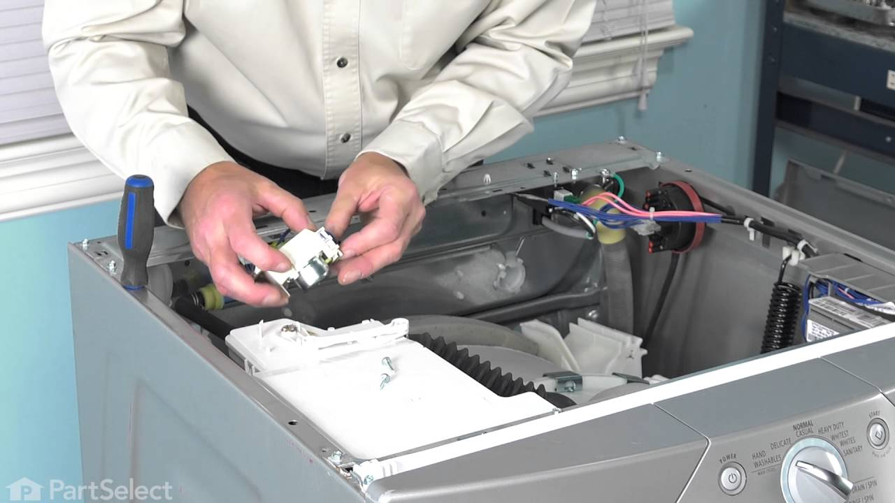 Replacing your Whirlpool Washer Dispenser Actuator Switch