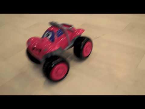 """CHICCO игрушка развивающая  Машинка """"Билли - большие колеса"""" (красная)"""