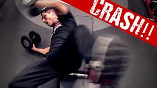 How to Lift Heavy Dumbbells (NEVER DO THIS!)