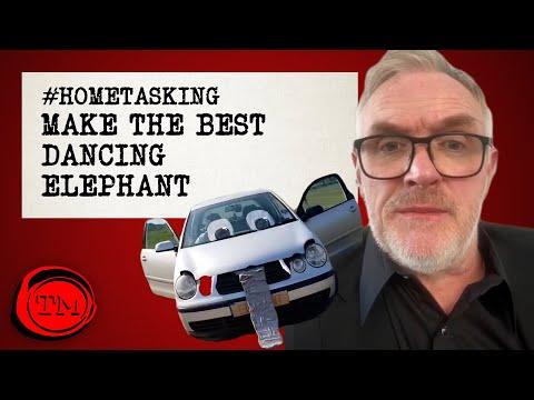 Hometasking: Natočte tancujícího slona