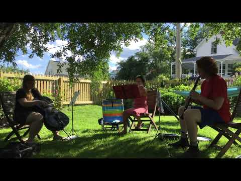 Chamber Music Residency on Peaks Island in Maine