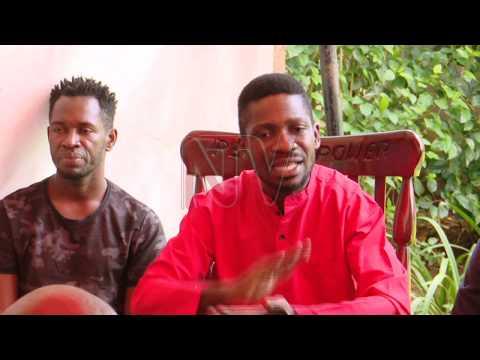 Bobi Wine asisinkanye abayimbi e Magere