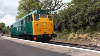 preview picture of video 'Class 31 (31438) Epping and Ongar Railway'