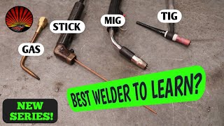 The pros and cons of Gas, Stick, MIG, and TIG welders