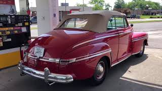 Test Drive 1946 Mercury Conv $34,900 Maple Motors