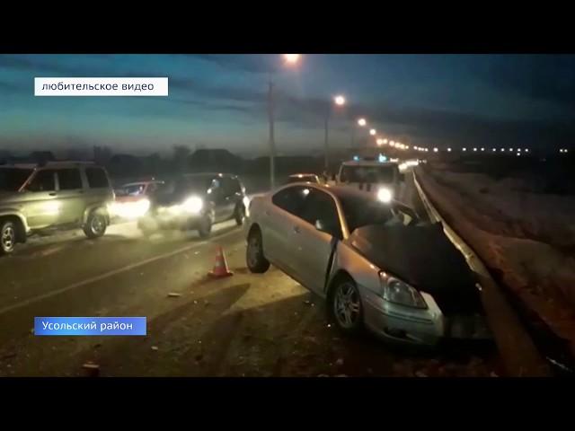 Автомобили разбиты, в больнице 9 человек