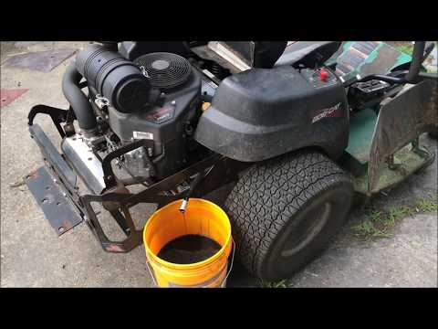 Kawasaki fr691v engine oil cooler attempt - смотреть онлайн на Hah Life