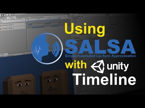 Using Unity's Timeline to Control SALSA Lip-Sync Audio Dialogue (pt 2)