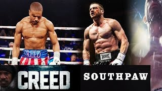 ROCKY SPINOFF 'CREED' VS. SOUTHPAW FULL MOVIE TRAILER REVIEW