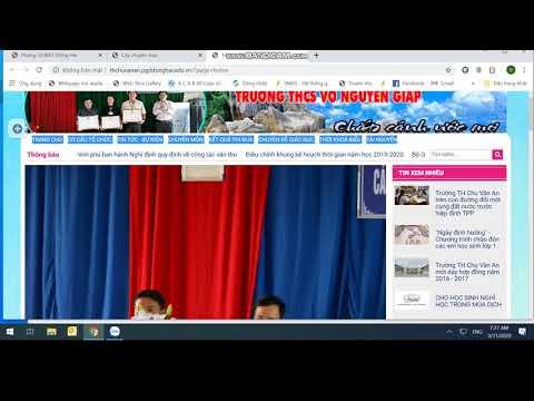 Video hướng dẫn sử dụng website - Bài 1
