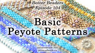 LIVE Class - The Basics Of A Peyote Pattern - DIY Jewelry Making Tutorial By PotomacBeads