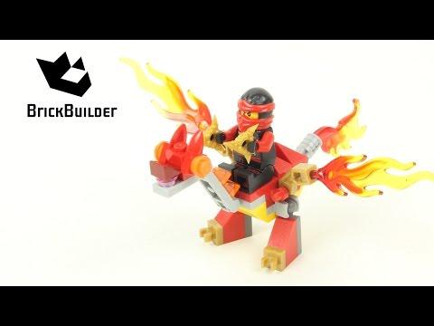 Vidéo LEGO Ninjago 30422 : Kai's Mini Dragon