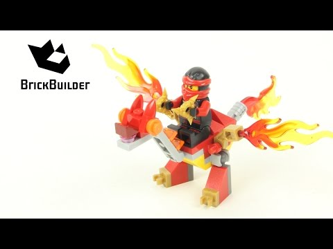 Vidéo LEGO Ninjago 30422 : Kai's Mini Dragon (Polybag)