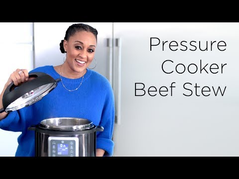 Tia Mowry's Easy Pressure Cooker Beef Stew | Quick Fix