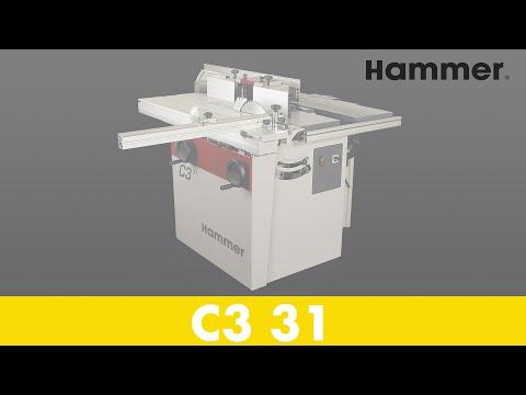 DIY Schaukelstuhl, mit HAMMER® Holzbearbeitungsmaschinen