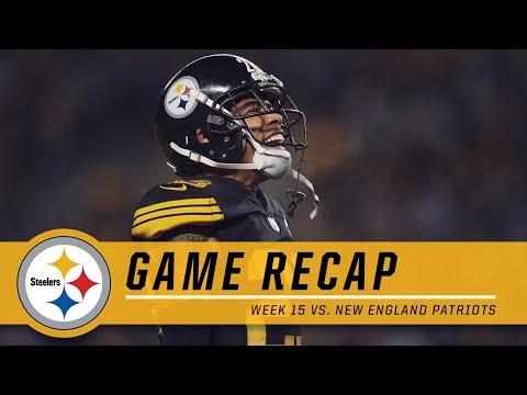 Steelers Snap Losing Streak w/ Big Win Over Patriots   Game Recap