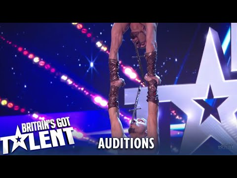 Vardanyan Brothers: Simon Wanted To STOP Dangerous Act..See What Happens! Britain's Got Talent 2019 (видео)