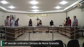 14ª SESSÃO ORDINÁRIA CÂMARA DE NOVA GRANADA