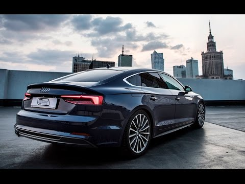 Audi A5 Sportback - in detail, exterior, interior