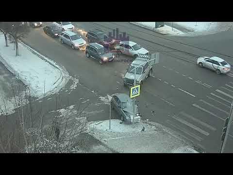 Высотная - Хабаровская 14.02.2019 ЧП Красноярск
