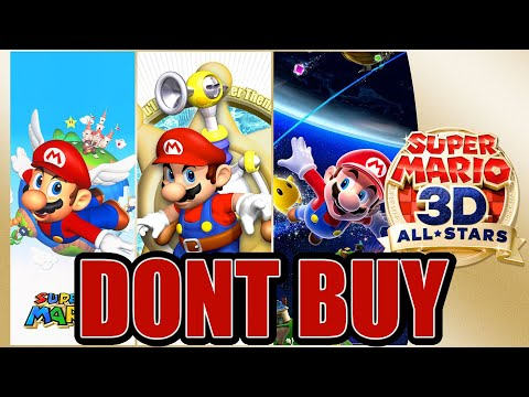 Super Mario 3D All-Stars Collection…is a Disappointment