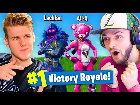 DUOS With Ali-A In Fortnite Battle Royale!
