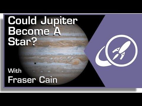 Může se z Jupiteru stát hvězda?