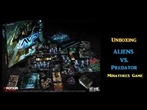 Unboxing AVP Miniatures Game