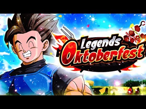 NEW DB Legends OktoberFest, Legends Return + Master's Pack 3! | Dragon Ball Legends