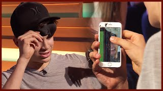 HAYES GRIER SMASHES PHONE ON TOP FIVE LIVE!