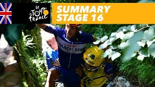 Summary - Stage 16 - Tour de France 2018 - dooclip.me