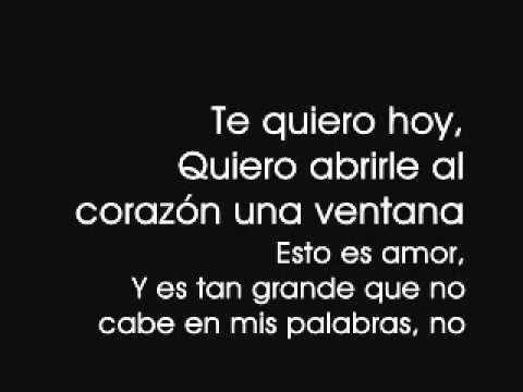 Nada es para Siempre - Luis Fonsi (with lyrics)