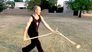 Kung Fu Weapon King!!!  SPEAR Tutorial 2