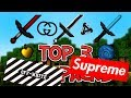 TOP 3 BEST PVP/HCF TEXTURE PACKS!! ★ [1.7/1.8/1.9] ★ FPS BOOST/NO LAG!! ★ HYPEBEAST EDITION!! [#15]
