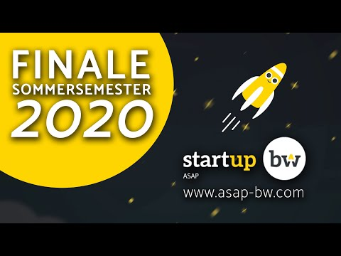, title : 'Finale Sommersemester 2020 // Start-up BW ASAP'