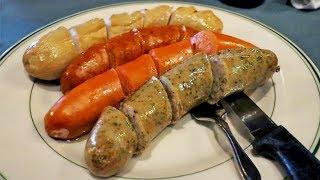 Сколько колбасок может влезть в американца?