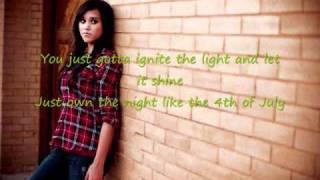 Firework- Katy Perry (cover) by: Megan Nicole (lyrics)