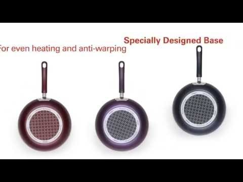 Introducing T-fal Color Luxe Cookware