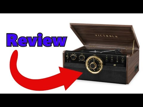 The *ALL NEW* Victrola 6 in 1 Mid Century Turntable! *FIRST LOOK*